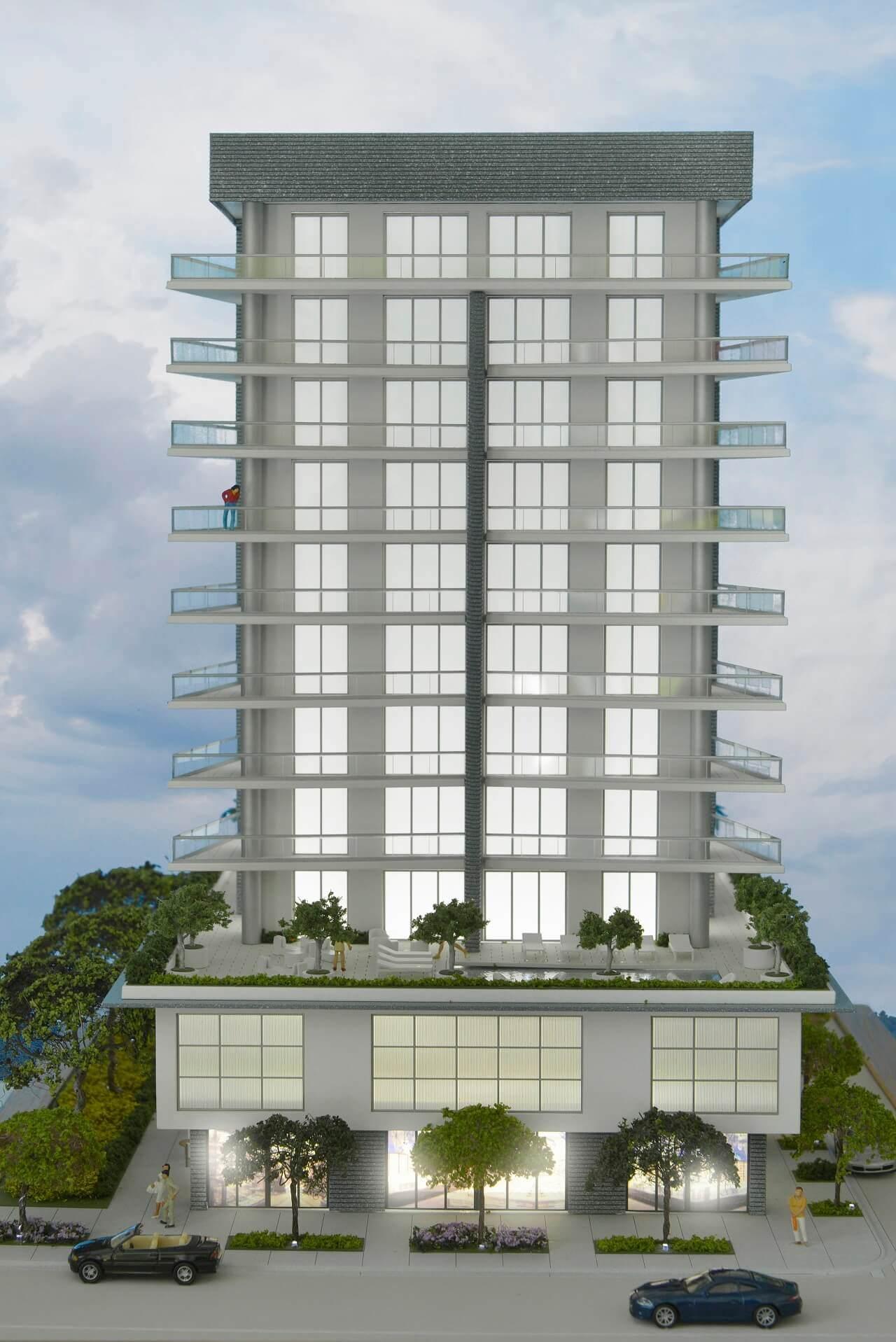 Large scale models building